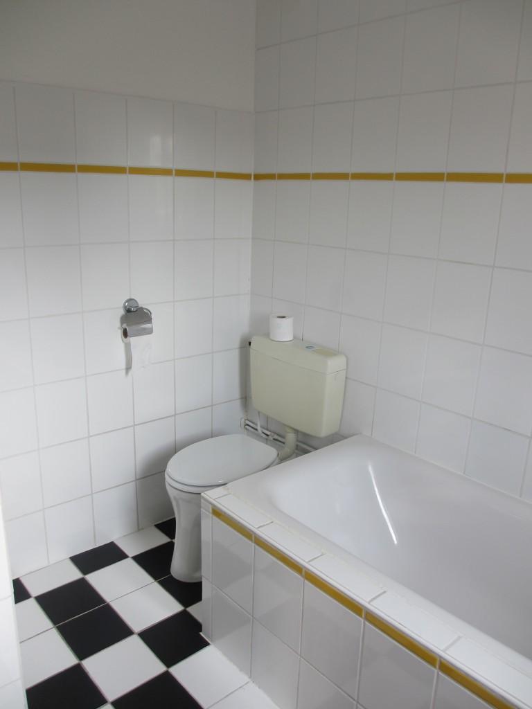 Badkamer voor verbouwing