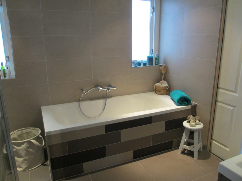 Badkamer na verbouwing